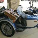 sidecar motorcycle with kit