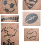 temporary sports tattoos
