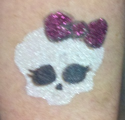 Monster High Glitter Tattoo